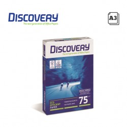 DISCOVERY A3 COPY PAPER 75GR - 500 SHEETS