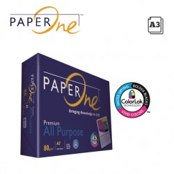 PAPERONE ALL PURPOSE A3 COPY PAPER 80GR - 500 SHEETS
