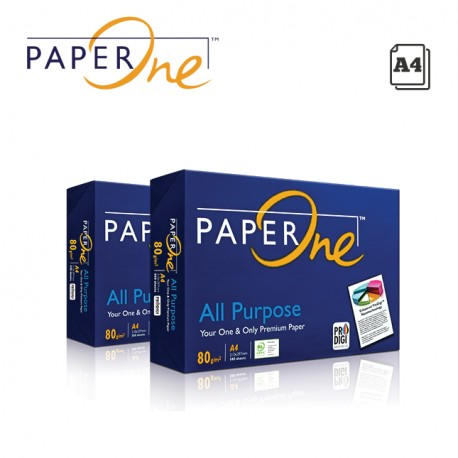 PAPERONE ALL PURPOSE A4 COPY PAPER 80GR - 500 SHEETS