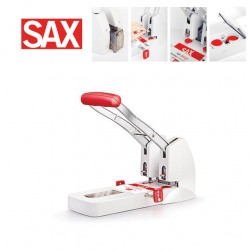 SAX 908 POWERLINE HEAVY DUTY 2 HOLE PUNCHER  -  150 SHEETS
