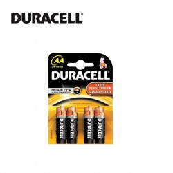 DURACELL AA BATTERIES - Blister of 4