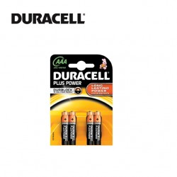 DURACELL AAA BATTERIES - Blister of 4