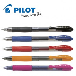 PILOT G2-07 GEL INK ROLLER PEN - MEDIUM TIP