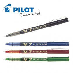 PILOT HI-TECPOINT V7 LIQUID INK ROLLER PEN - MEDIUM TIP
