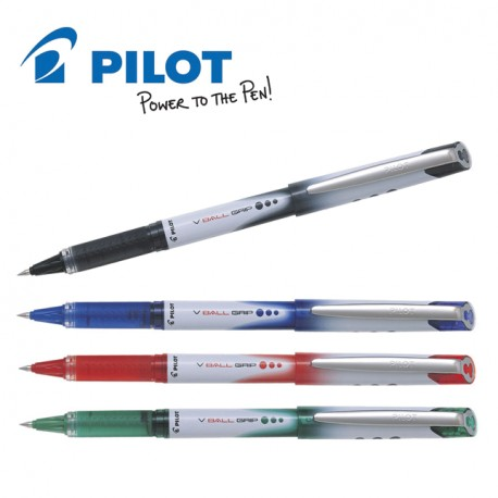 PILOT V-BALL GRIP 05/07 LIQUID INK ROLLER PEN - FINE ...