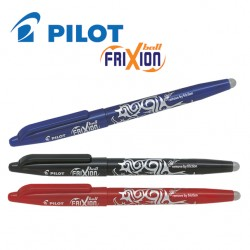 PILOT FRIXION BALL GEL INK ROLLER PEN - MEDIUM TIP