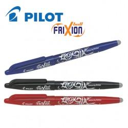 PILOT FRIXION BALL GEL INK ROLLER PEN - MEDIUM TIP