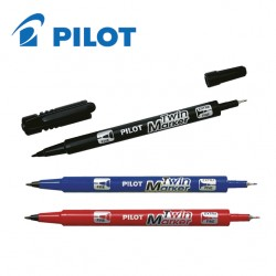 PILOT TWIN MARKER - EXTRA FINE/FINE TIP