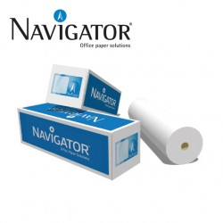 PLOTTER ROLL UNCOATED - NAVIGATOR 90GR