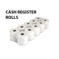 CASH REGISTER ROLLS - WOODFREE PAPER