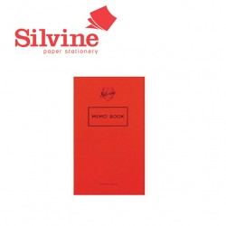 SILVINE MEMO NOTEBOOK  -  042F
