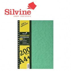 SILVINE A4+ TWIN WIRE HARDBACK NOTEBOOK - SPA4