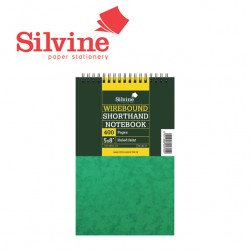 SILVINE SHORTHAND TWIN WIRE NOTEPAD - 441