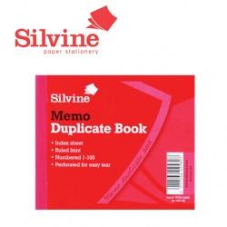 SILVINE DUPLICATE MEMO BOOK - 603