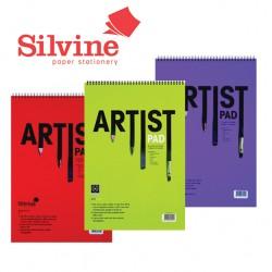 SILVINE A3 TWIN WIRE ARTIST PAD - 402