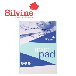 SILVINE A4 & A3 GRAPH PADS