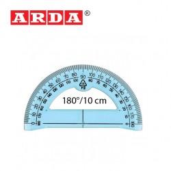 ARDA PROTRACTOR 180°/10 cm