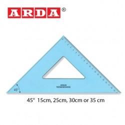 ARDA SQUARE TECNO SCHOOL  -  45°/ 15cm, 25cm, 30cm, & 35cm