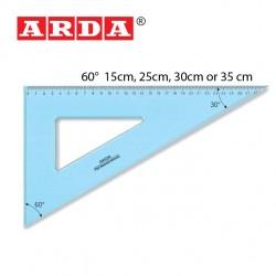 ARDA SQUARE TECNO SCHOOL  -  60°/ 15cm, 25cm, 30cm, & 35cm