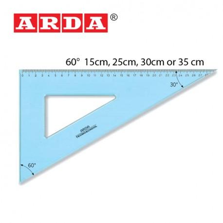 ARDA SQUARE TECNO SCHOOL - 60°/ 15cm, 25cm, 30cm, & 35cm - CasaBella  Imports LTD