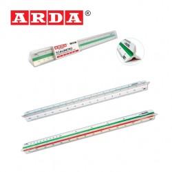 ARDA TRIANGULAR SCALE RULER - 30cm