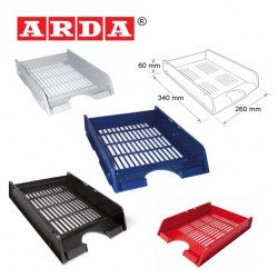 ARDA LETTER TRAY - MATT COLOURS