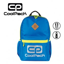 COOLPACK BAGS - BACKPACK BLUE NEON N003