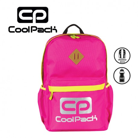 COOLPACK BAGS - BACKPACK PINK NEON N001