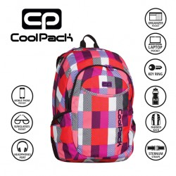 COOLPACK BAGS -  BACKPACK SNOW HILLS 923