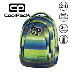 COOLPACK BAGS -  BACKPACK 2 IN 1 MULTI STRIPES 646