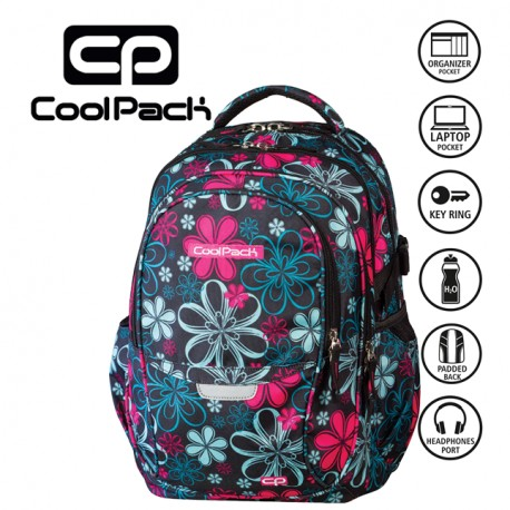 COOLPACK BAGS -  BACKPACK FLOWERS 439