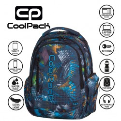 COOLPACK BAGS -  BACKPACK LIGHTS SPLASH 812
