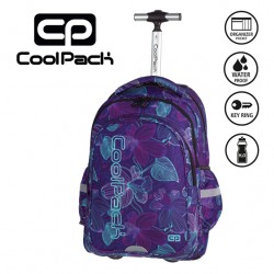 COOLPACK BAGS - TROLLEY BACKPACK LUNAR BLOSSOM 793