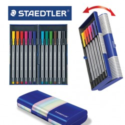 STAEDTLER  TRIPLUS FINELINER 334 - Set of 12 in magic box