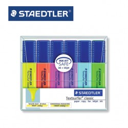 STAEDTLER HIGHLIGHTERS - Pack of 6 Textsurfer® Classic 364