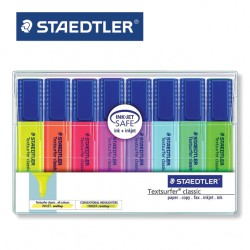 STAEDTLER HIGHLIGHTERS - Pack of 8 Textsurfer® Classic 364