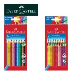 FABER CASTELL TRIANGULAR COLOUR PENCILS