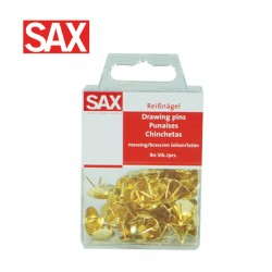 SAX DRAWING PINS - Pack of 80
