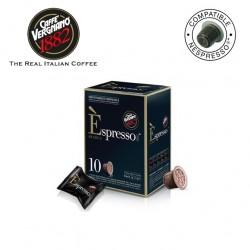 VERGNANO ARABICA CAPSULES x10 - NESPRESSO COMPATIBLE