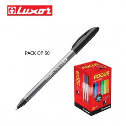 LUXOR FOCUS ICY BALL PENS - BLACK