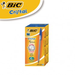 BIC Cristal Medium Ballpoint Pens - BOX OF 50