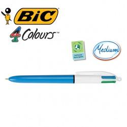 BIC 4 Colour Ballpoint Pens