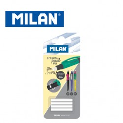 Milan Blister of 4 spare erasers for PL1 Mechanical Pencils