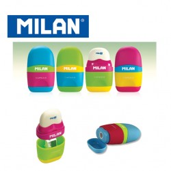 Milan Sharpener&Eraser - Capsule MIX