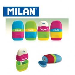 Milan Sharpener&Eraser - Capsule MIX
