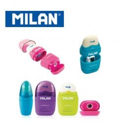 Milan Sharpener & Eraser - Capsule