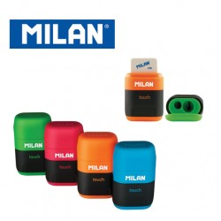 Milan Sharpener & Eraser - Compact TOUCH DUO