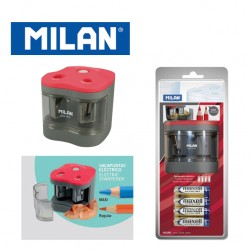 Milan Electric Double Sharpener - MAXI & Regular
