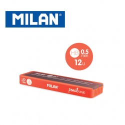Milan Spare Leads for Mechanical Pencils - HB 0.5mm