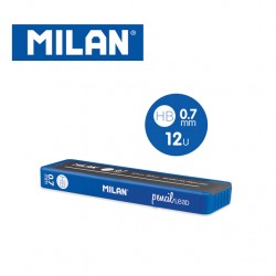 Milan Spare Leads for Mechanical Pencils - HB 0.7mm